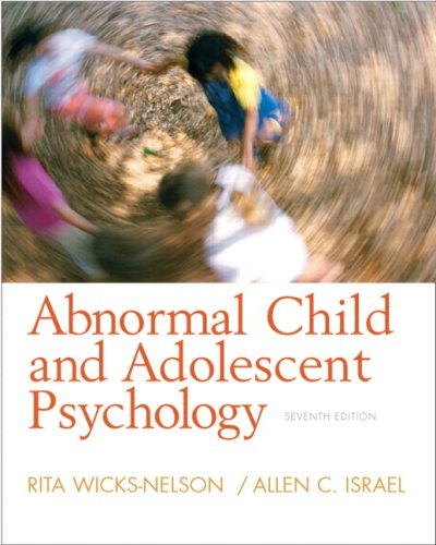 Abnormal Child And Adolescent Psychology- (Value Pack...
