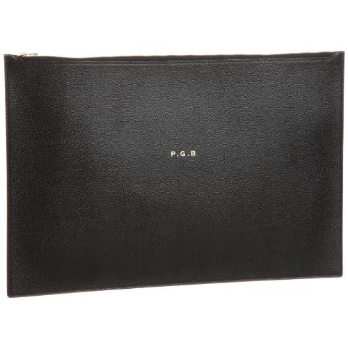 "[ビージルシヨシダ] B印YOSHIDA PORTER×B印 YOSHIDA ""P.G.B"" DOCUMENT CASE 34421432176 19 (BLACK/ONE SIZE)"