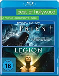 Best of Hollywood 2012 - 2 Movie Collector's Pack 54 (Priest / Legion) [Blu-ray]