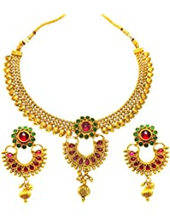 SatyamJewelleryNX Traditional Multi-color Necklace Set For Women Fashion Jewellery
