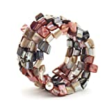 Mother of Pearl Wrap Bracelet