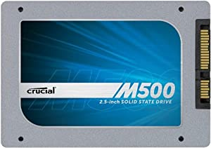 Crucial M500 960GB SATA 2.5-Inch 7mm (with 9.5mm adapter) Internal Solid State Drive CT960M500SSD1