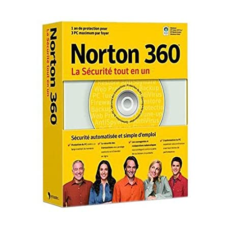 Norton 360 All-In-One Security Annual Subscription - 3 PCs (vf)