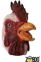 ZooBoo Kreepy Kock full head Rooster Mask Halloween Costume