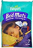 Pampers Bed Mats Compact Bag (3 Packs of 7, Total 21 Mats)