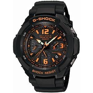 【クリックで詳細表示】[カシオ]CASIO 腕時計 G-SHOCK ジーショック SKY COCKPIT タフソーラー 電波時計 MULTIBAND 6 GW-3000B-1AJF メンズ