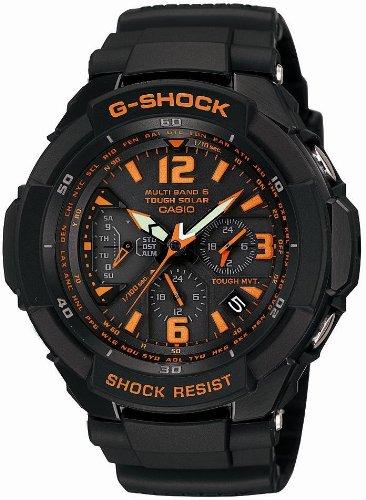 カシオ (CASIO) 腕時計 G-SHOCK SKY COCKPIT GW-3000B-1AJF  タフソーラー 電波時計 MULTIBAND 6  メンズ