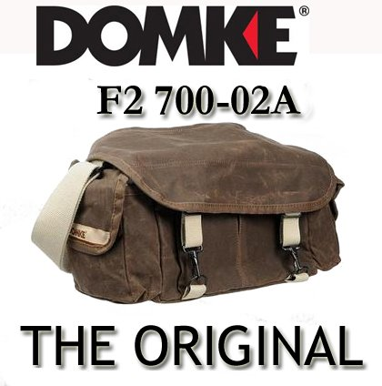 Domke 700-02A F-2 Bag (Brown Waxwear Finish)