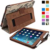iPad Mini & Mini 2 Case, Snugg™ - Smart Cover with Flip Stand & Lifetime Guarantee (Digital Camo Leather) for Apple iPad Mini & Mini 2 with Retina