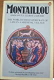 Montaillou Cathars and Catholic In a French Village (0140054715) by Ladurie, Emmanuel Le Roy