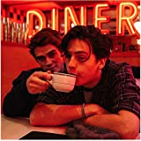 K.J. Apa 8 inch x 10 inch PHOTOGRAPH Riverdale (TV Series 2017 - ) Holding Cup for Cole Sprouse kn