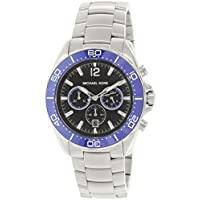Michael Kors MKORS-MK8422 Men's Winward Chrono Stainless Steel Black Dial Watch