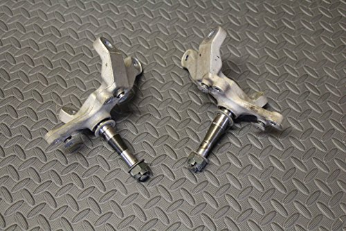 2 x Front spindles steering knuckle YFZ450 YFZ 450 Raptor 700 fits 2004-2012 (Steering Knuckle Spindle compare prices)