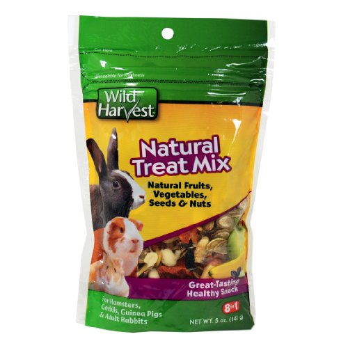 Wild Harvest Natural Treat Mix for Small Animals, 3-Ounce (P-84151) 51zyjpAVhKL