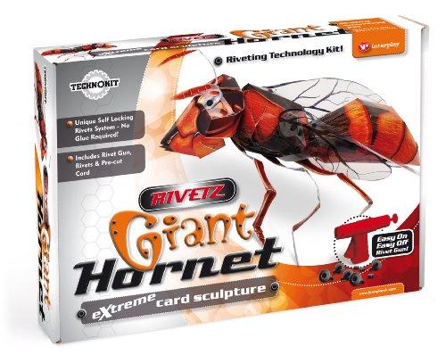 rivetz-giant-hornet-card-sculpture