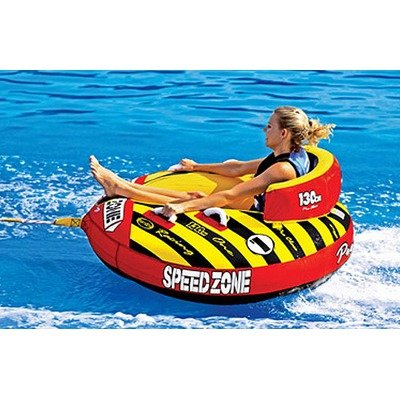 Image of Sportsstuff 53-1920 / 57-1522 SpeedZone 1 Towable Tube with Optional 2K Tow Rope (B00116YUT4)