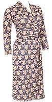 Knielanges Damen Jersey Kleid V-Ausschnitt 3/4 Ärmel Wickeloptik Business Büro Elegante stilvolle Kleider Jerseykleider Frauen