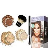 Bellapierre Cosmetics All Over Face Highlight & Contour Kit - Medium