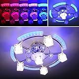 Kleine power led wand porch verein licht bunte farbwechsel for Wohnzimmerlampe led