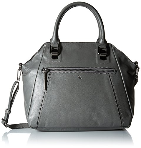 elliott-lucca-faro-city-satchel-damen-grau-schultertaschen