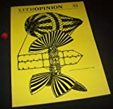 Lithopinion 33: Spring 1974 - Volume 9, Number 1, Issue 33
