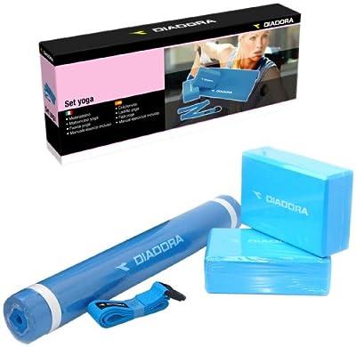 DIADORA A-1240SE60 Yoga Set, blau