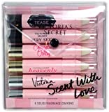 Victoria's Secret Scent With Love 6 Solid Fragrance Crayons ~ Limited Edition