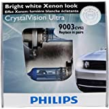Philips 9003 CrystalVision ultra Upgrade Headlight Bulb (Pack of 2)