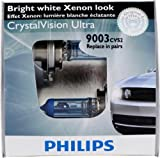 Philips 9003 CrystalVision Ultra Headlight Bulb, Pack of 2