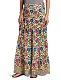 Tolani Women's Maternity Maxi Skirt, Sun Floral, Small