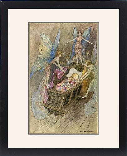 Framed Print Of Folklore/Fairies/Goble front-1009744