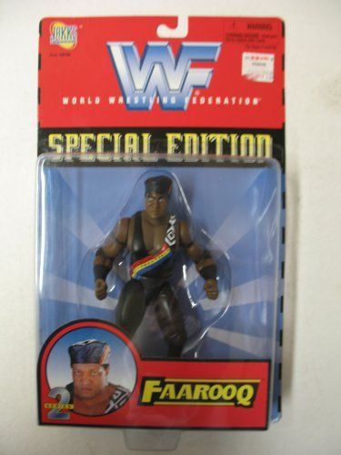 WWF Special Edition Action Figure Series 2 - Faarooq by Jakks Pacific - 1
