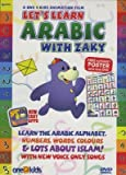 Lets Learn Arabic with Zaky (DVD). Includes FREE alphabet poster.