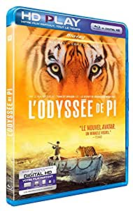 L'Odyssée de Pi [Blu-ray] [Blu-ray + Copie digitale]
