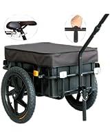 """TIGGO Rimorchio per bicicletta con ruote da 16"""" - Rimorchio per bagaglio - 20315"""