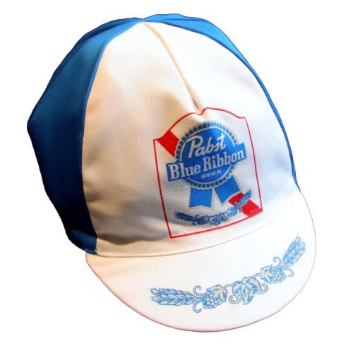 Bella Capo Cycling Cap Pabst Blue Ribbon.