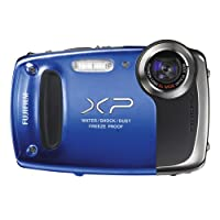 Fujifilm FinePix XP55 14MP Digital Camera | Blue by FUJIFILM