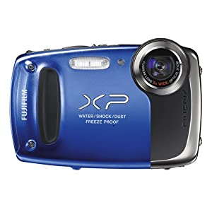 Fujifilm FinePix XP55 14MP Digital Camera | Blue by FUJIFILM