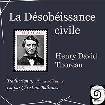 la desobeissance civile henry david thoreau pdf