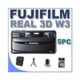Fujifilm FinePix Real 3D W3 Digital Camera with 3.5-Inch LCD Bundle