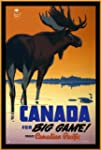 Vintage Travel CANADA for BIG GAME an...