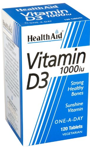 HealthAid Vitamin D3 1000iu Tablet Pack of 120