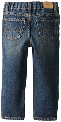 The Children's Place Little Boys' Straight Aged Stone Denim