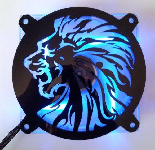 Custom Acrylic Lion Head Computer Fan Grill 92mm (Custom Acrylic 92mm Fan Grill compare prices)