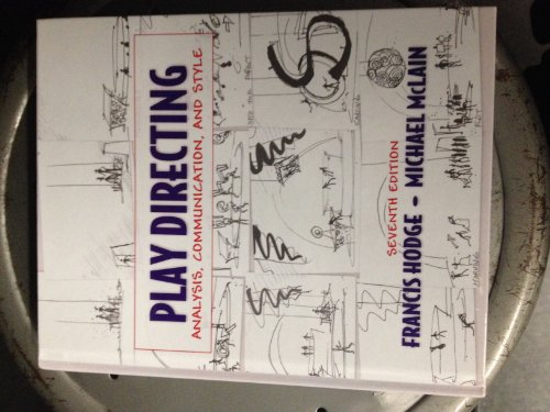 Play Directing Analysis, Communication, and Style (Hodge Directing compare prices)