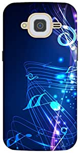 The Racoon Lean music fall hard plastic printed back case/cover for Samsung Galaxy J2 (2016)