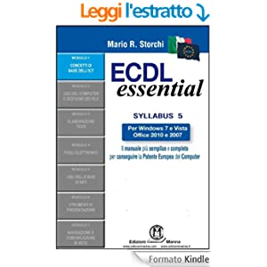 ECDL Essential - Modulo 1 - Concetti di base dell'ICT