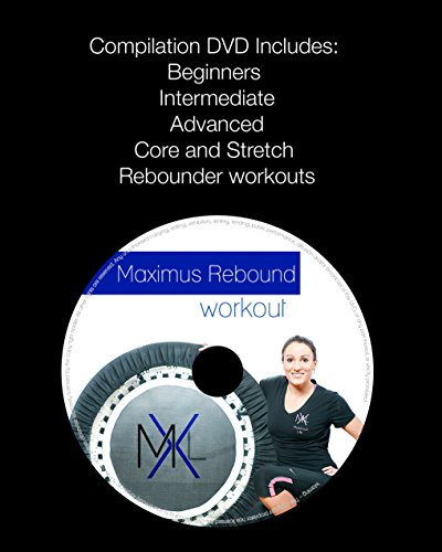 MaXimus Pro Gym Rebounder Package Includes Great Compilation Rebound DVD and Handle Bar