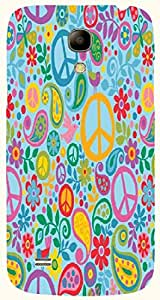 Great multicolor printed protective REBEL mobile back cover for Samsung I9190 Galaxy S4 mini D.No.N-T-4461-S4M
