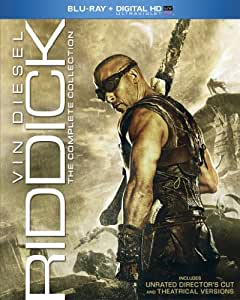 Riddick: The Complete Collection (Blu-ray + Digital HD UltraViolet)
